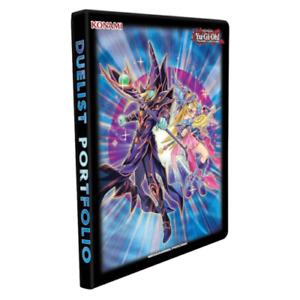 YUGIOH ACCESSORIES Dark Magician 9 Pocket Portfolio Konami Yu-Gi-Oh