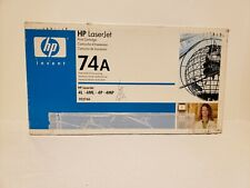 HP Laserjet 92274A 74A Genuine Black Toner Cartridge NEW