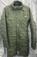 DC Shoes Womens Dusty Green Snow Ski Jacket Snowboard Coat Long Xsmall Xs