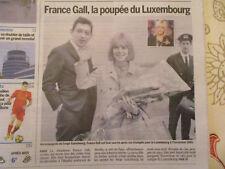 ARTICLE DU SOUVENIR DE : FRANCE GALL - 08/01/2018 - L'ESSENTIEL -