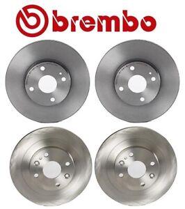 Brembo Kit Front and Rear Brake Disc Rotors 250mm For Mazda Miata 1994-2005
