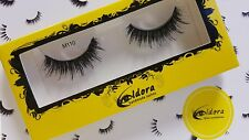 Eldora False Eyelashes M110 Multi-Layered Human Hair Strip Lashes