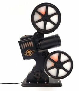 Hyde And Eek Boutique Halloween Rotating Movie Projector With Sounds And LEDs