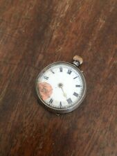 Fancy Case And Dial London 1910 31Mm Antique George V Solid Silver Pocket Watch