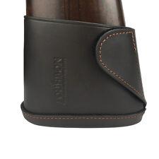 Tourbon Gun Slip-on Buttstock Recoil Pad Rifle/Shotgun Leather Extension Protect