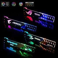 Graphics Video Card Support Holder Aluminum Acrylic RGB Light For ARGB ASUS