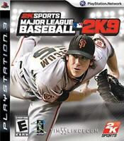 Major League Baseball 2K9 Playstation 3 Game PS3 Used Complete