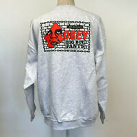 Obey Men's Crew Sweatshirt Big Boy Pants Heather Ash Grey Size XXL NWT Andre