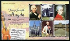 DOMINICA 2009 Haydn Musik Komponist Gemälde Music Paintings 3931-3936 ** MNH