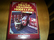 book how to go tram & tramway modelling david voice signed 1st edition