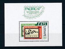 [SU939] Suriname Surinam 1997 Stamp Expo San Francisco Souvenir Sheet MNH