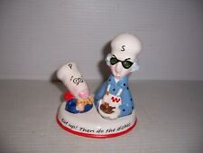 Hallmark ShoeBox Maxine & Floyd Salt & Pepper Shakers New
