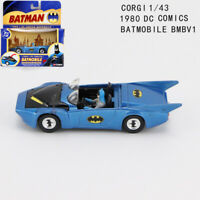 Batman 1/43 CORGI DC Comics 1980 Batmobile BMBV1 Diecast Car Model Collectible