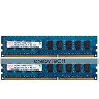 For Hynix 4GB 2x2GB PC3-10600E DDR3-1333 240PIN CL9 ECC Unbuffered UDIMM Memory