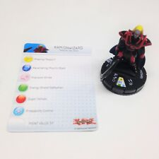Heroclix Yu-Gi-Oh! Series 3 set Kamionwizard #002 Common figure w/card!