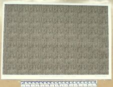 """Dolls house 1/12th scale """"Roof thatch - smooth type""""  paper - A4 sheet"""