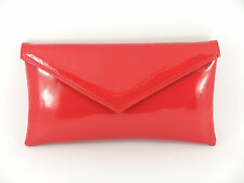Neat Perfect Patent Envelope Clutch Bag