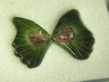 2.85CTW STUNNING UNHEATED MULTI COLOR MOZAMBIQUE TOURMALINE BUTTERFLY WINGS
