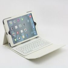 For iPad 2 3 3rd 4 gen Retina Stand Leather Case Cover with Bluetooth Keyboard