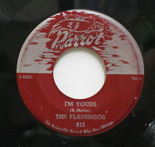 THE FLAMINGOS I'm Yours / Ko Ko Mo PARROT 812 Doo Wop 45