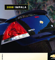 2008 Chevrolet Chevy Impala Dealer Sales Brochure Catalog - Canada SS
