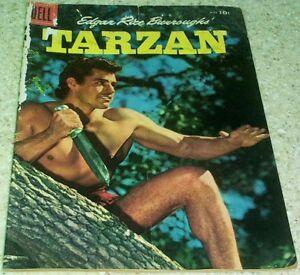 Tarzan 80, (VG+ 4.5) 1956 photo cover! 50% off Guide!