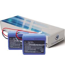 Lot de 2 batteries 7.2V 1500mAh pour iRobot Mint Plus 5200C