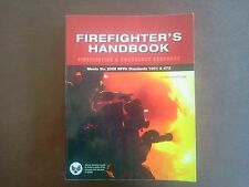 Firefighter's Handbook: Essentials of Firefighting and Emergency Response by Del