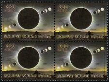 Chile 2019 Block 4 stamps Total Solar Moon Eclipse