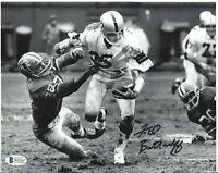 Fred Biletnikoff Autographed Oakland Raiders 8x10 Photo Beckett SB MVP / HOF 4