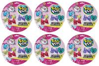 Pikmi Pops Surprise Bows 2 Pack Lot of 6 Blind Bags NEW SEALED