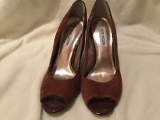 Steve Madden Women's Suede Open Toe Heels for Women