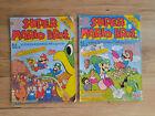 2 Stk. Super Mario Bros. Video-Comic-Magazine Nr. 6 & 7 (Condor Verlag, 1992)