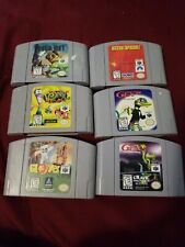 N64 game lot of 6