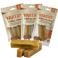 Yakers Dog Chew Natural Yaks Milk Healthy Extra Long Lasting Hard Dog Puppy