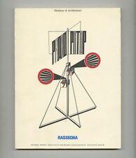 1990 Olivetti RASSEGNA 43 Journl REKLAME & ARCHITEKTUR Futurism + Constructivism