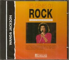 MUSIQUE CD LES GENIES DU ROCK EDITIONS ATLAS - WANDA JACKSON N°11