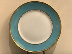 """Richard Ginori Contessa Turquoise Dinner Plate 10 3/8"""""""