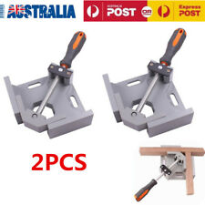 2PCS 90 Degree Die Cast Corner Clamp Welding Right Angle Woodworking Vice OZ