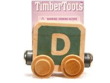 Timber Toots Name Trains Wooden Railway System Alphabet Preschool Toys Letter D