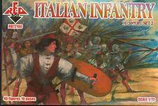 Red Box - 72100 - Italian infantry 16th century. Set 2 - 1:72   *** NEW ***