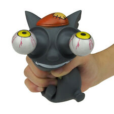 Pop Out Eyes Stress Reliever / Mad Cat Bulging Eyes Stress Balls