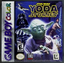 GBC Star Wars Yoda Stories (1999) Brand New & Nintendo Factory Sealed