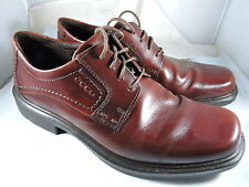 MEN'S ECCO BERLIN PLAIN TOE TIE RUST LEATHER (49754) Size 41 (US 7-7.5)