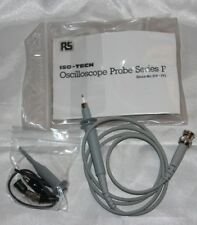 RS Components Oscilloscopio Probe SERIE F x1 x10