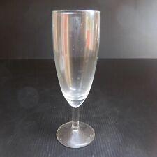 Flute cristal vin champagne vintage art déco table gastronomie France N6249