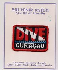 Dive Curacao Souvenir Patch