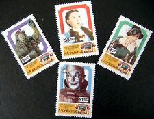 MONTSERRAT WIZARD OF OZ POSTAGE STAMPS SET 1989 MNH 50 YEARS DOROTHY SCARECROW
