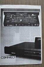 Genesis, 2 pagine, Genesis Digital Lens, Stereo test, fotocopia