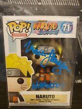 Funko Pop Animation: Naruto Shippuden - Naruto SIGNED AUTHENTIC RARE